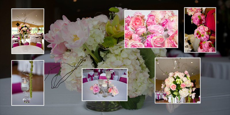 photographing the wedding Flowers